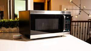 Turn off the convection oven when all food items have been removed. Amazon Smart Oven Review Alexa Lends A Hand In The Kitchen Cnet