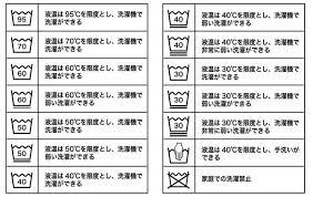 新洗濯表示覚えておくべきは5つの基本記号見分けて衣類長持ちお