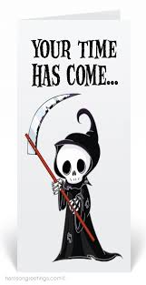 halloween birthday greeting grim reaper halloween greeting card 12656 ministry greetings