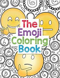 Amazoncom The Emoji Coloring Book 30 Large Coloring Pages Of Cute