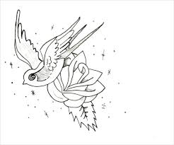 Small Picture 9 Rose Coloring Pages JPG Ai Illustrator Download