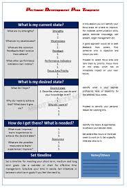 microsoft office templatespersonal development plan template