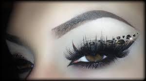 easy y leopard new years eve liner arabic makeup tutorial trucco y capodanno 2016 2 you