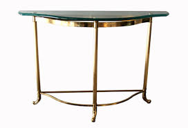 vintage entry table. Vintage Italian Brass LaBarge Entry Table E