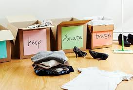 de clutter 8 easy ways to declutter and downsize all your stuff today