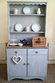 blue shabby chic furniture. Shabby Chic Welsh Dresser Blue Grey French Kitchen Farmhouse Duck Egg Furniture