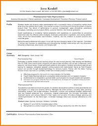 Sales Representative Resume Sample Medical Device Blaster Re Sevte
