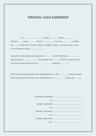 Money Loan Agreement Sample 24 Free Loan Agreement Templates [Word PDF] Template Lab 1