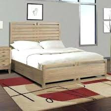 white farmhouse storage bed with storage drawers projects build