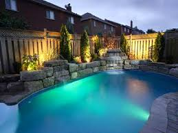 Backyard Pool Landscaping Pool Backyard Ideas With Above Ground Pools Small Kitchen Bath