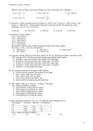 1 mol naoh dalam 1 liter air 2. Contoh Soal Uas Kimia Kelas 11 Semester 2 Contoh Soal Terbaru