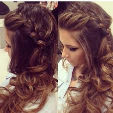 Elegant Prom Hair Style prom hairstyles for long hair to the side elegant side swept curls 1524 by wearticles.com