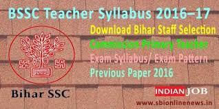 Download Bssc Teacher Syllabus 2016 17 Bssc Syllabus Pattern