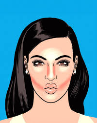 from on se to on trend contouring has gone mainstream and you can thank kim kardashian