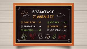 80 Breakfast Menu Templates Free Psd 671910 Png Images
