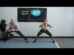 and leg workout with resistance bands kinetic bands