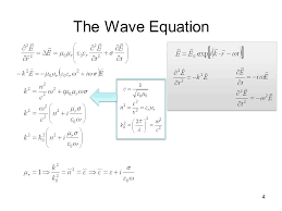 4 the wave equation 4