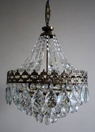 lamp chandelier antique vintage french basket style