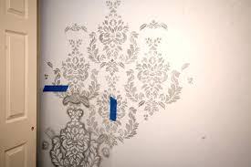 damask wall stencil elegant damask wall stencil for painting inspiration ceiling stencils ideas daughters bedroom how to nest paint bathroom