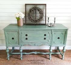 green buffet without custom painted furniture dallas