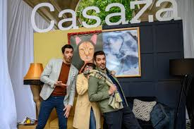 jonathan and drew scott delivering the property brothers experience