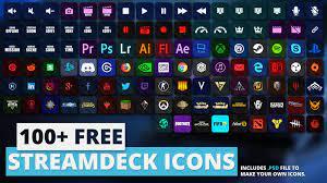 Elgato Stream Deck Icons