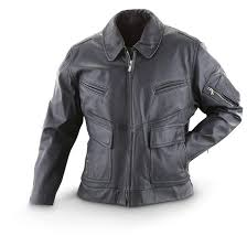 used women s german police leather jacket double tap to zoom