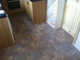Tile Effect Laminate Flooring In Kitchen
