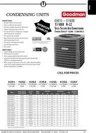 goodman 1 5 ton split system. 5 uncased; hvac table of contents pdf; goodman 1 ton split system ,