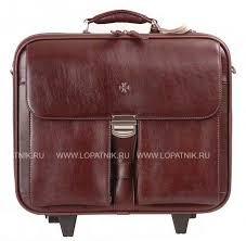 <b>Портфель дорожный</b> кожаный <b>Vasheron 9806</b>-<b>Burgundy</b>, цена 69 ...