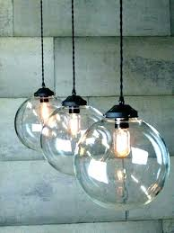 mini globe pendant light new pendant light clear glass sphere pendant light clear glass globe pendant