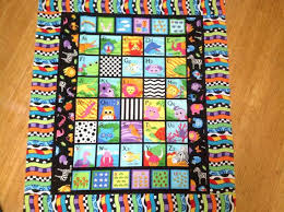 Baby Blanket Unisex Patchwork Baby Blanket By Theredpistachio Free ... & Free Unisex Baby Quilt Patterns Bright Alphabet 123 Cot Quilt Floor Rug  Play Mat Child Toddler ... Adamdwight.com