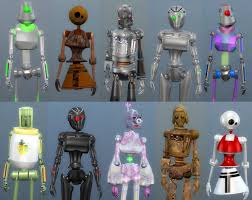 Mod The Sims: Lots More Bots - 21 New Servo Overrides by Esmeralda • Sims 4  Downloads