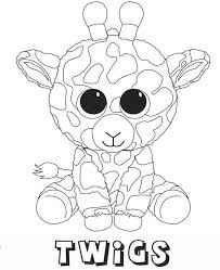 Unicorn Beanie Boos Coloring Pages Daily Inspiration Quotes
