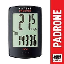 Cateye Padrone Bike Computer Cc Pa100w Black