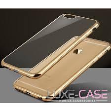 iphone 6 gold case. polished edge gold iphone 6 plus case iphone i