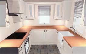 u shaped kitchen with island layout desk design small u shaped