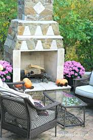 appealing yard art patio fireplace beautiful best