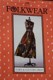 Folkwear Patterns Mesmerizing Adonising Dressing For Dinner Claire McCardell Folkwear Patterns