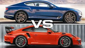 2018 bentley gt3. beautiful gt3 2018 bentley continental gt vs 2017 porsche 911 gt3 rs and bentley gt3