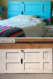 turn an old door into a headboard click pic for 22 small bedroom decorating ideas small bedroom decorating ideas on budget i64 bedroom