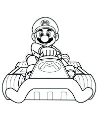Super Mario Bros Da Colorare E Da Stampare Gratis