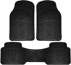 Car Floor Mats for Toyota Corolla 3pc Set All Weather Rubber Semi ...