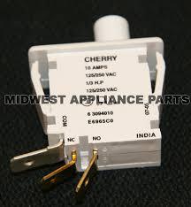 speed queen parts appliance chicago speed queen clothes dryer door switch w10169313 10169313