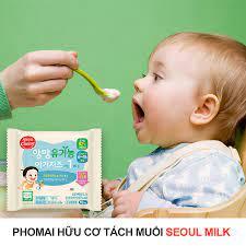Tại sao nên sử dụng phomai tách muối hữu cơ Seoul Milk trong thực đơn ăn dặm  của trẻ?