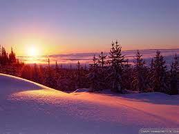 40+] Winter Sunset HD Wallpaper on ...