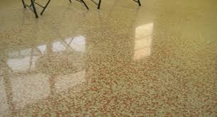 mostly found in commercial properties including hospitals and retail s terrazzo flooring is