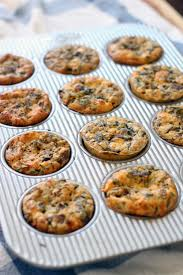 these mini mushroom goat cheese and rosemary quiches are moist fluffy and