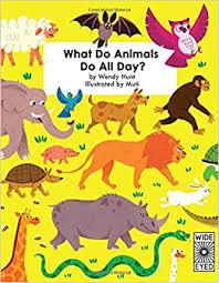 Amazon | What Do Animals Do All Day? | Hunt, Wendy, Studio Muti | Activity  Books