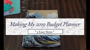 Make Your Own Budget Planner 3 Easy Steps Diy